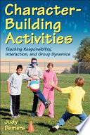 Character building Activities Book