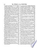 The Statutes of the United Kingdom of Great Britain and Ireland Book
