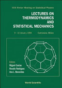 Lectures on Thermodynamics and Statistical Mechanics