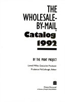 Wholesale By Mail Catalog 1992