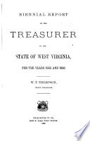 Biennial Report of the Treasurer