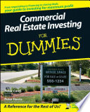 """Commercial Real Estate Investing For Dummies"" by Peter Conti, Peter Harris"