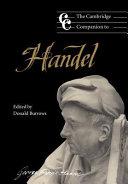 The Cambridge Companion to Handel