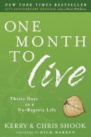 One Month to Live Pdf