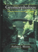 Geomorphology Book