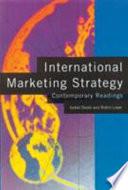 International Marketing Strategy: Contemporary Readings - Isobel ...