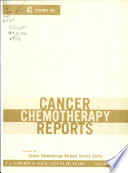 Cancer Chemotherapy Reports