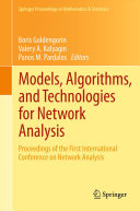 Models  Algorithms  and Technologies for Network Analysis