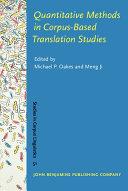 Quantitative Methods in Corpus-based Translation Studies