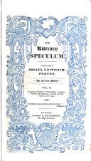 The Literary speculum  by various hands
