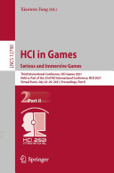 HCI in Games  Serious and Immersive Games