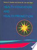Health education and health promotion Book