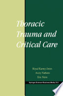 Thoracic Trauma And Critical Care Book PDF