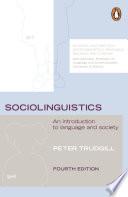 Sociolinguistics Book PDF