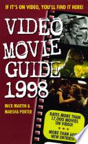 Video Movie Guide 1998