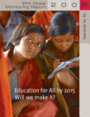 Education for All Global Monitoring Report 2008