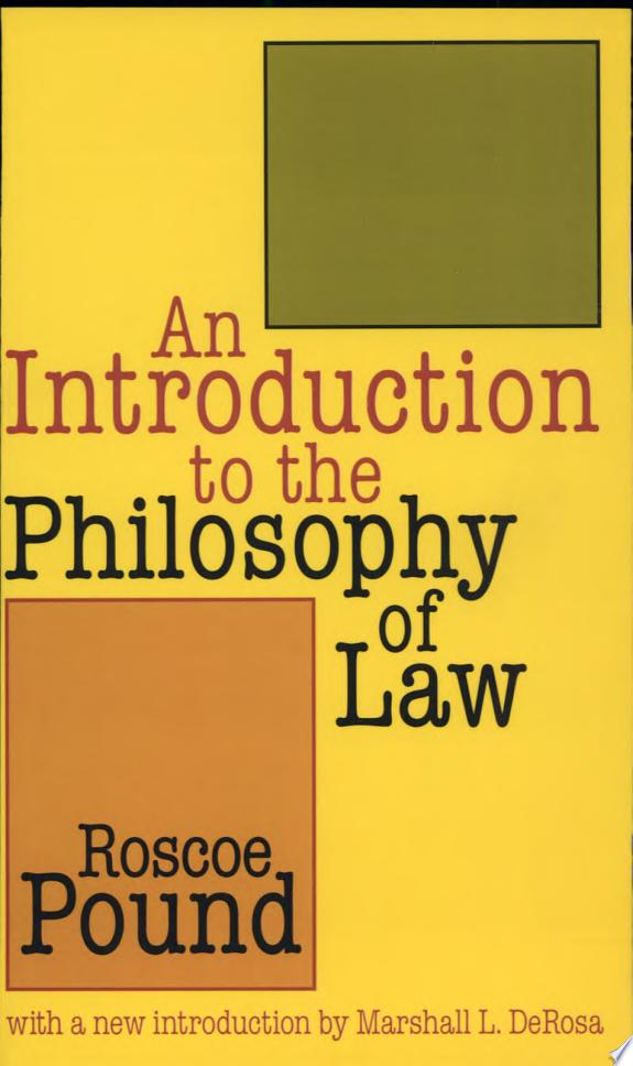 An Introduction to the Philosophy o