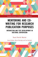 Mentoring and Co Writing for Research Publication Purposes