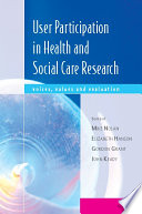 Ebook User Participation In Health And Social Care Research