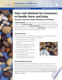 Nuts: Safe Methods for Consumers to Handle, Store, and Enjoy