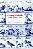 The English Fable
