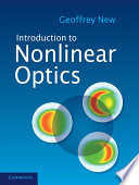 Introduction to Nonlinear Optics Book