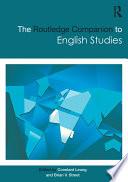 The Routledge Companion to English Studies