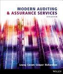 Modern Auditing   Assurance Services Book