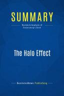 Pdf Summary: The Halo Effect