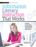 Information Literacy Instruction That Works Book PDF