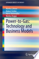 Power To Gas Technology And Business Models Book PDF