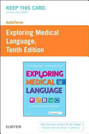 Audioterms for Exploring Medical Language - Retail Pack