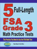 5 Full-Length FSA Grade 3 Math Practice Tests