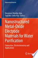 Nanostructured Metal Oxide Electrode Materials for Water Purification