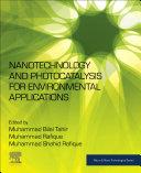 Nanotechnology and Photocatalysis for Environmental Applications