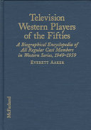 Television Western Players of the Fifties