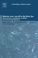 Siberian River Run-Off in the Kara Sea ebook