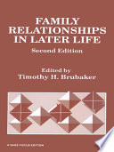 Read Online Family Relationships in Later Life For Free