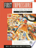 First Impressions: Music and Study Guides, Volume 1