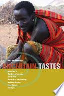 Uncertain Tastes Book PDF