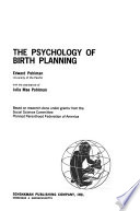 The Psychology of Birth Planning