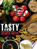 Blank Cook Book Tasty Recipes Notes