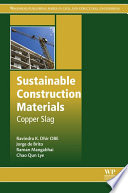 Sustainable Construction Materials Book PDF
