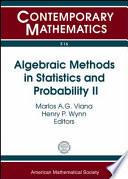 Algebraic Methods In Statistics And Probability Ii