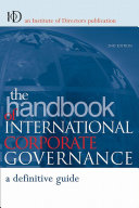 The Handbook of International Corporate Governance