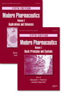 Modern Pharmaceutics  Two Volume Set