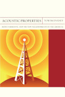Acoustic Properties