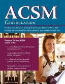 ACSM Certification Practice Tests