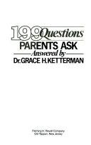 199 Questions Parents Ask