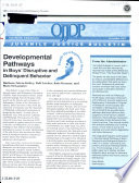 Developmental Pathways in Boys  Disruptive and Delinquent Behavior